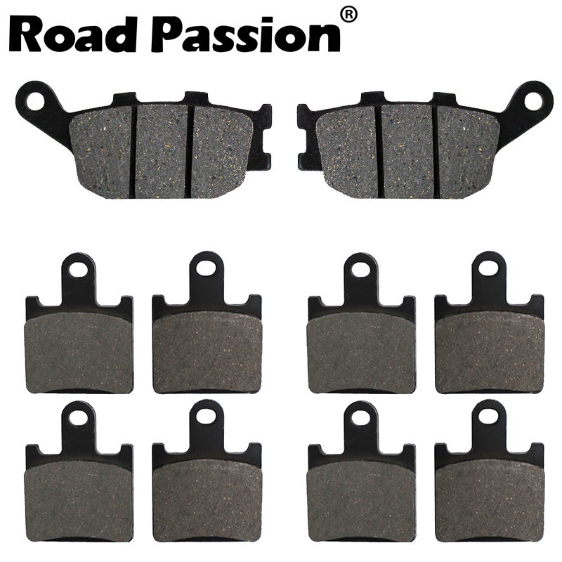 Road Passion Motorcycle Front & Rear <font><b>Brake</b></font> Pads For <font><b>KAWASAKI</b></font> Z 750 R Z750R <font><b>Z750</b></font> (ABS & Non ABS) 2011 2012 2013 2014 image