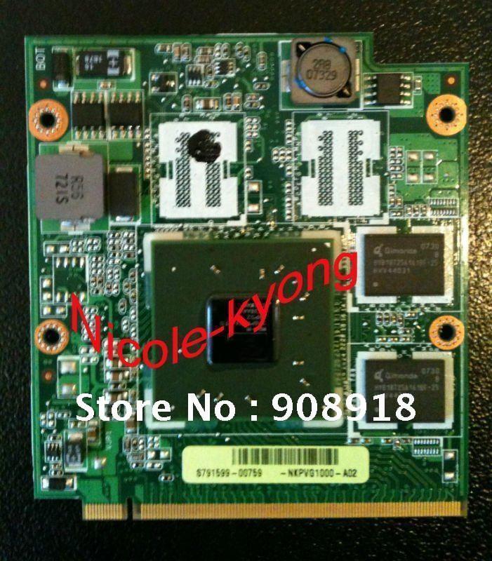 X2300 M64-M NKPVG1000 A8 08G28AR0120I rev 2.0 HD2300 DDR2 256MB Graphics Video Card for ASUS A8JR A8JE A8J A8S A8JC A8JP A8JM