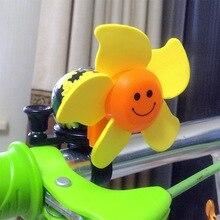 Детские колокольчики для детской коляски скутер рожок игрушка прекрасный колокольчик складной велосипед BMX милый ветряная мельница колокольчик 22,2 мм Handlerbar дети милый MTB колокольчик