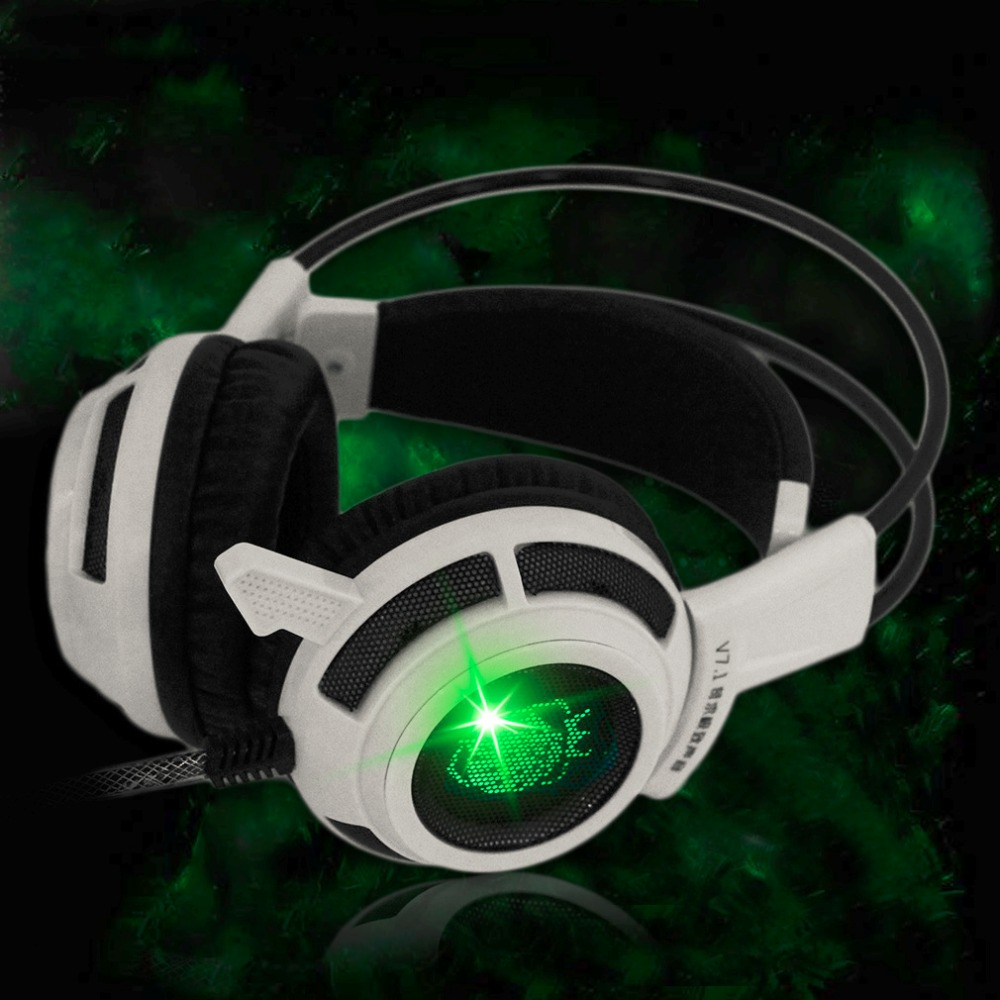 Professional Wired Game Shock Headphones USB 3.5mm Stereo Gaming Headset Headphone with Microphone for PC each g8200 gaming headphone 7 1 surround usb vibration game headset headband earphone with mic led light for fone pc gamer ps4