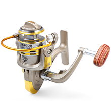 Yumoshi GS1000-7000 12BB 5.5: 1 Metal Spinning rybářské navijáky Fly Wheel pro čerstvé / solné vody Příslušenství k rybářským nástrojům