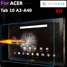 NEWCOOL 9H For Acer Iconia Tab 10 A3-A40 10.1″ Safety Protective Glass Film For Acer A3 A40 Tempered Glass Screen Protector