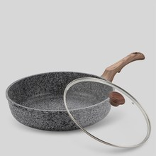 Maifan Stone Pan Non-stick Frying Pan Fried Steak Pot Frying Pan Die-casting Pot Uncoated Frying Pot Kitchen Supplies цены онлайн