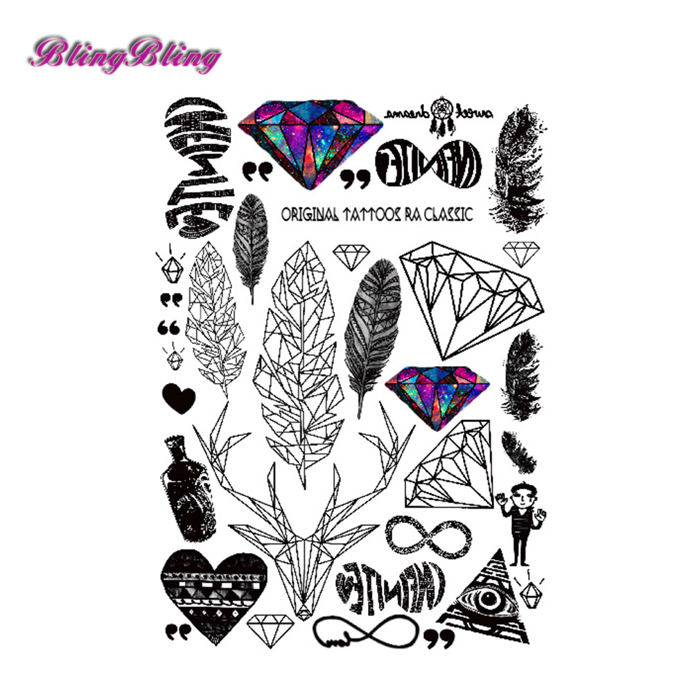 Feather Heart Tattoo Designs