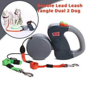 Image 2 - สุนัขสายจูงสุนัขสายรัดสัตว์เลี้ยงสุนัขคู่สายจูงสุนัข 2 50 ปอนด์สายรัดเดินสำหรับpuppy Perro