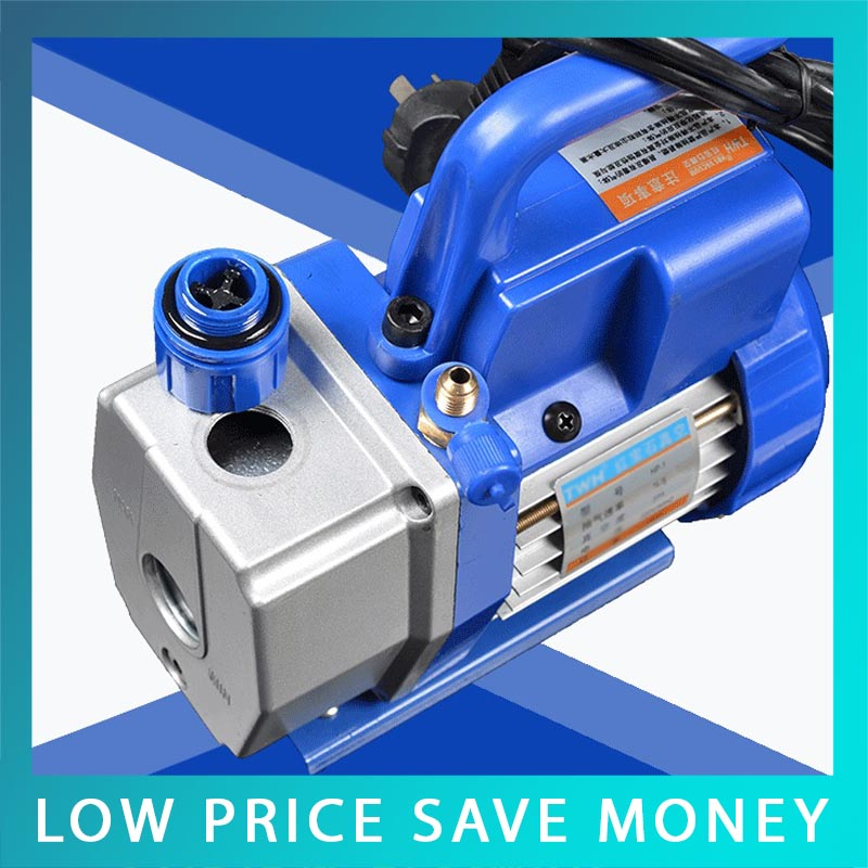 1L/S Mini Vacuum Pump Frequency Conversion Air Conditioning Refrigerator Repair Vacuum Pump,oil is not able to delivery vacuum pump inlet filters f007 7 rc3 out diameter of 340mm high is 360mm