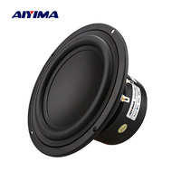 AIYIMA 1Pcs 5.25 Inch Subwoofer 4 8 Ohm 40W Woofer Speaker Strong Bass Home Theater For Bookshelf Speaker Car Audio DIY