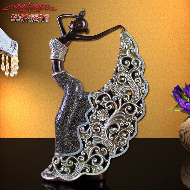 2016 home decoration accessories classical dancer beauty complex 2016 home decoration accessories classical dancer beauty complex peacock spirit furnishing jewelry ornaments wedding room decor junglespirit Images