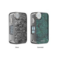 Heavengifts ECOFRI Gear Box Mod with Wireless Charging LED & screen Power By 18650 Battery Mod Box vs Drag 2/ Luxe Mod/ Shogun