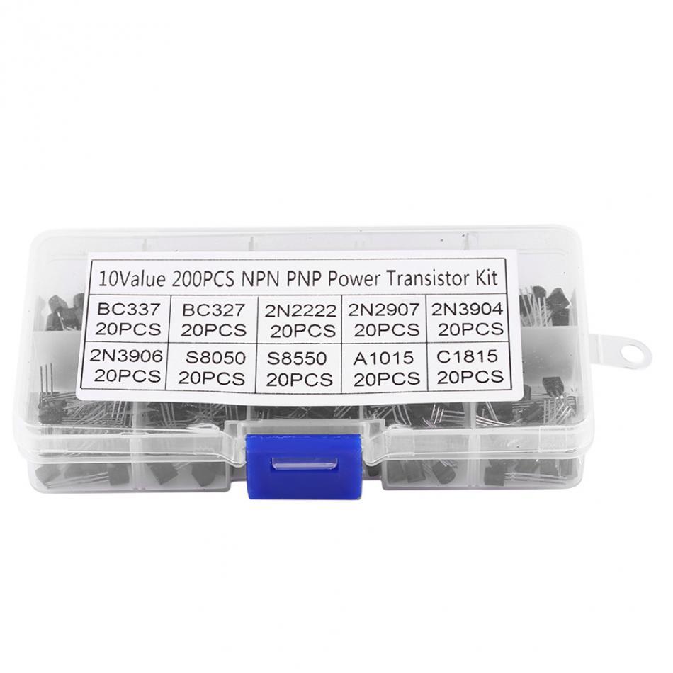 BC547 Box 2N2222 2N2907 Transistoren W 1 BC327 200Pcs Set BC337