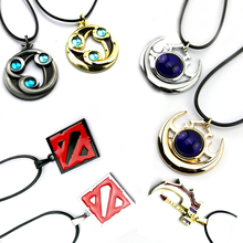 Bsarai Dota2 Hot Game Maps Shadow Amulet Talisman of Evasion basher Zinc Alloy Cosplay Necklace Pendants