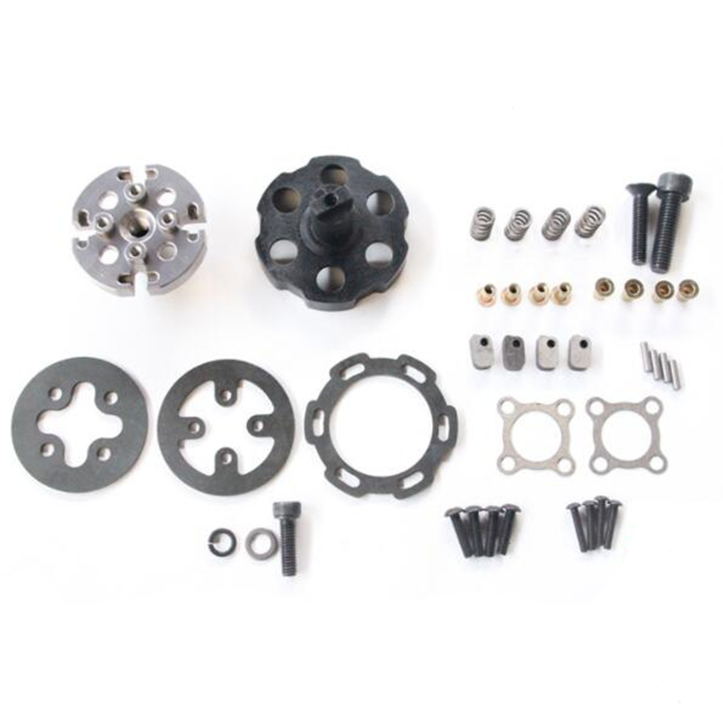 NEW ENRON ALUMINUM FRONT+REAR C-HUB & KNUCKLE FOR HPI SAVAGE X XL 21