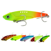 WLDSLURE New Arrival Metal VIB Fishing Lure 12g Fishing Tackle Crankbait Vibration Spoon Spinner Sinking Bait
