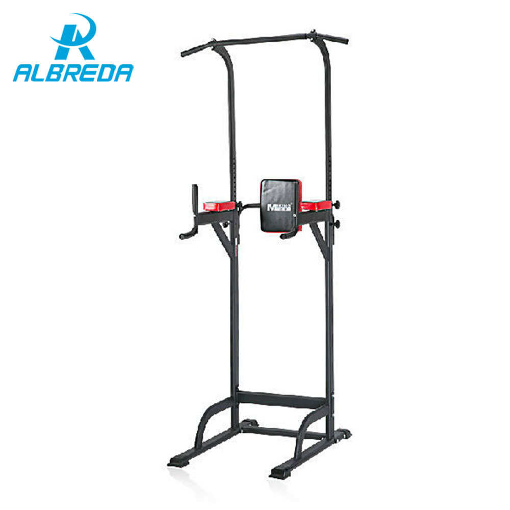 ALBREDA pull up bar Indoor fitness equipment training multifunctional fitness weight loss split parallel bar push-up exercise bearing 100kgs adjustable door home gym bar exercise workout chin up pull up horizontal bars sport fitness equipment o2k0003