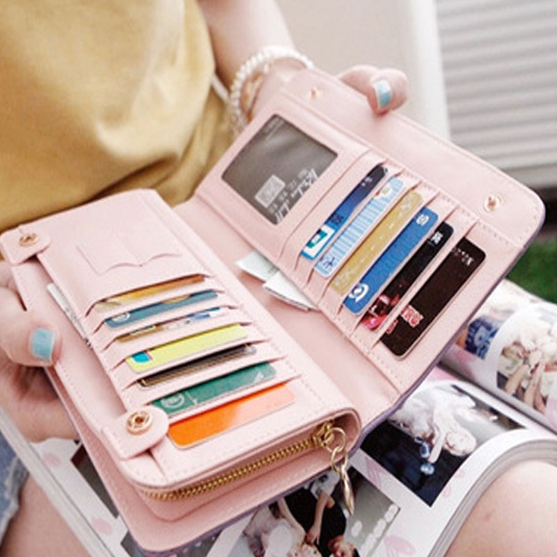 Place Credit Card Holder Women For Phone Id Card Holder