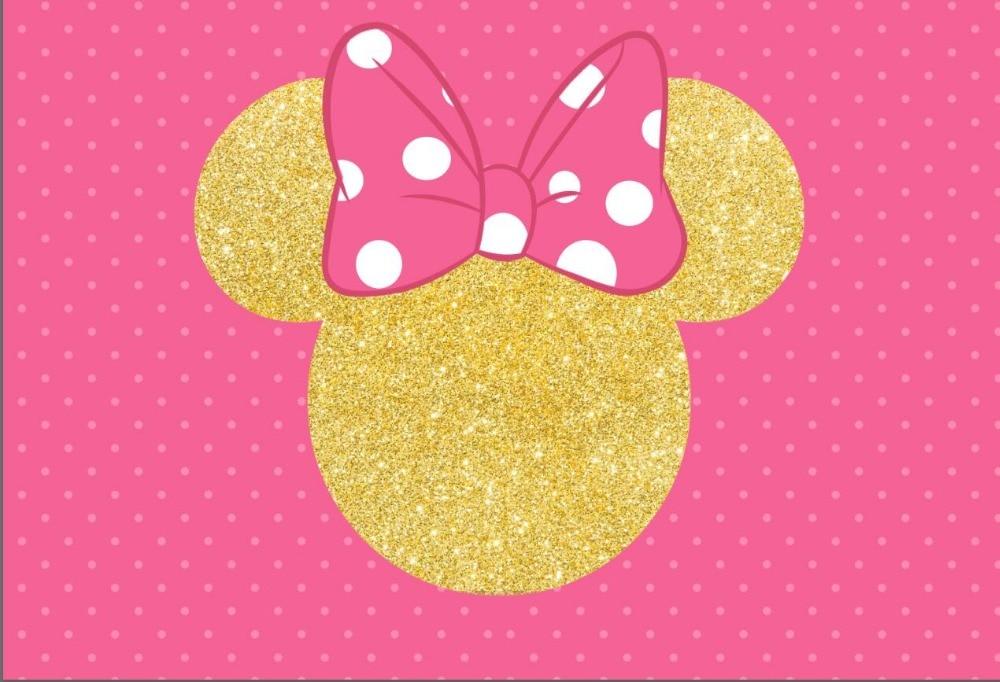 """Minnie Mouse Vinyl Bows X 6-3"""" Wide"""