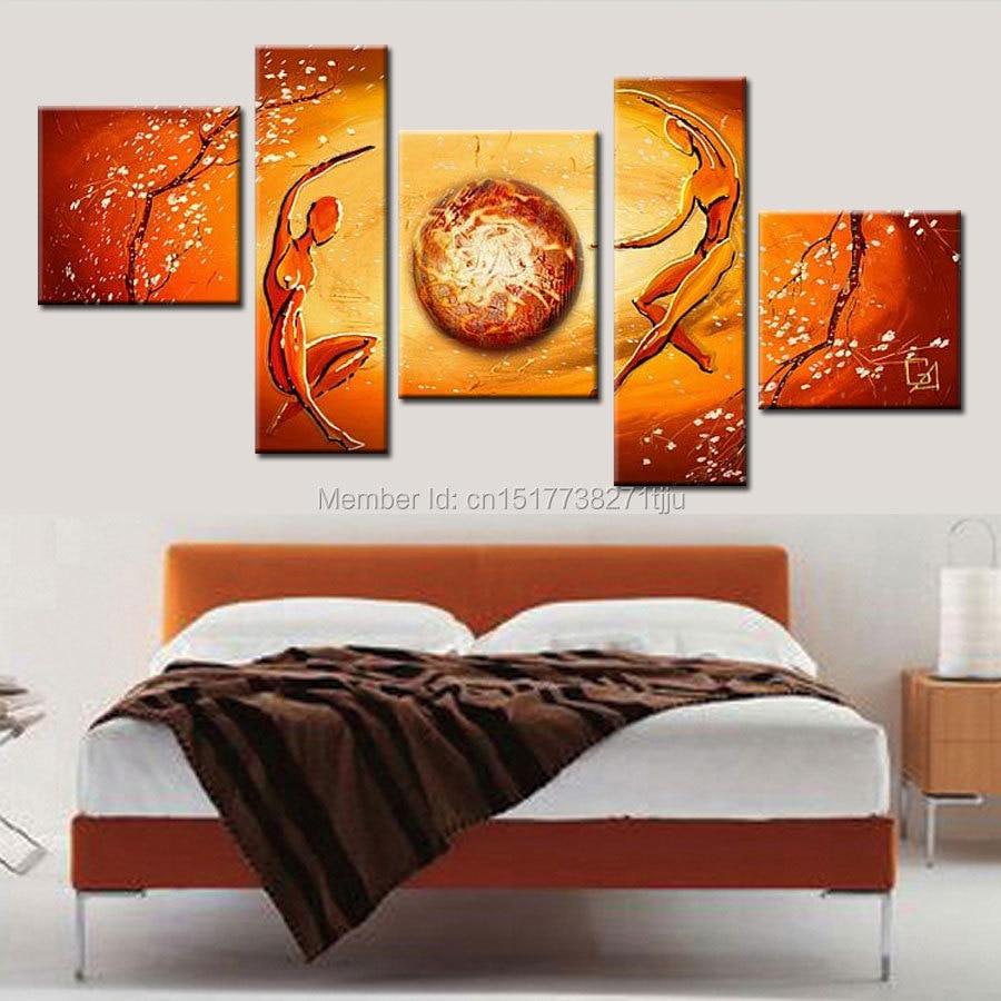 Қолмен жасалынған абстракциялы - Үйдің декоры - фото 6
