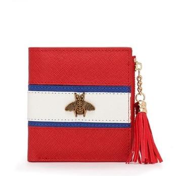 Bee Designer Genuine Leather Wallet Famous Brands 1