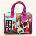 Женщины Плеча сумки мешок основной borse di marca bolsa feminina роскошные сумки женские сумки дизайнер сумка braccialini Сумки