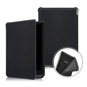 Умный чехол для электронных книг Pocketbook 616 627 632, Touch Lux 4/Basic Lux 2/Touch HD 3, мягкий ТПУ чехол с функцией автоматического сна