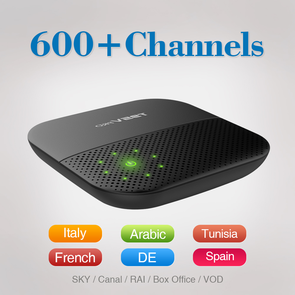 Android 6.0 TV Box S912 Octa Core 4 K H.265 2.4/5G WiFi Reproductor multimedia c