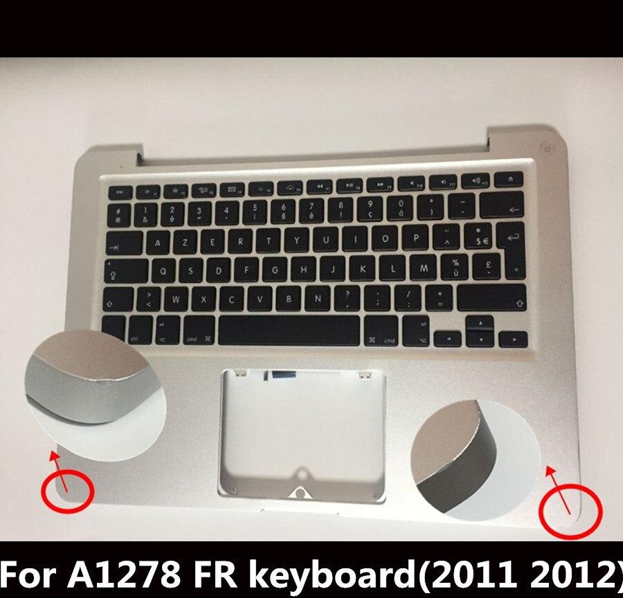 98% Nouveau FR Top Case Français Repose-poignets Case pour Macbook Pro 13