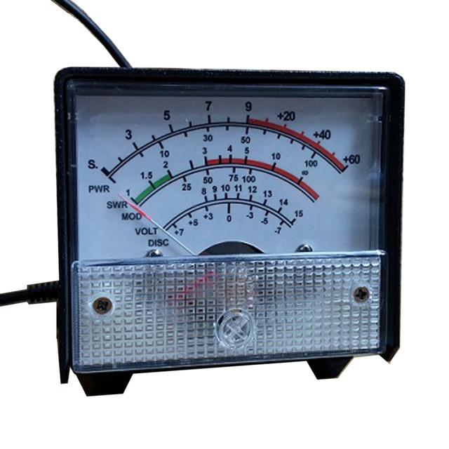DIY Brand External S Meter/SWR/Power Multifunctional Extension Meter For Yaesu FT-857/FT-897
