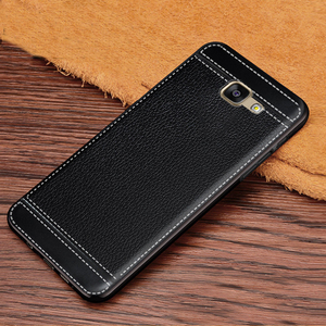 Image 2 - Case for Galaxy A7 2016 Leather Texture Soft TPU Case For Samsung Galaxy A7 2016 A710 A7100 A710F A710M
