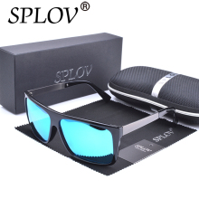 2017 SPLOV Polarized Driving Ray Brand Designer Travel Square Sunglasses Men Retro Sun Glasses Women Mirror Fashion Eyeglasses