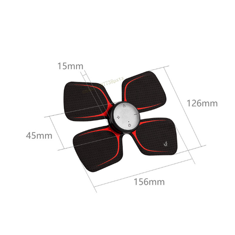 Xiaomi LF Massage à quatre roues motrices autocollant magique masseur électrique intelligent corps détendre le travail musculaire avec l'application Mijia - 6