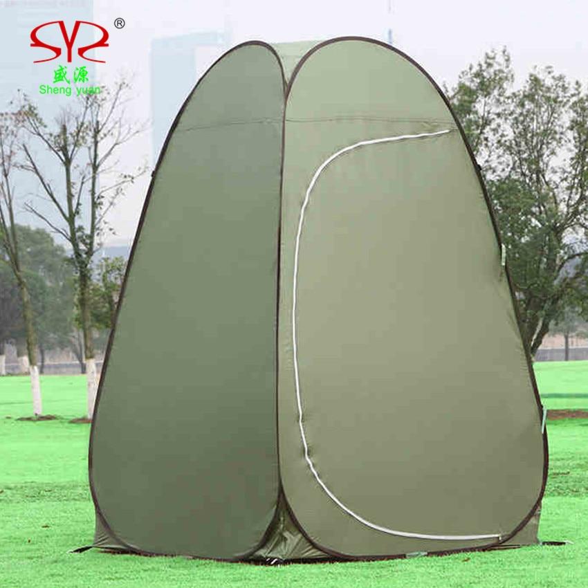 tendë portative kampe tualet kampe ndryshueshme portative tendë - Kampimi dhe shëtitjet - Foto 5