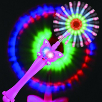 Party Supplies Fish mouth windmill LED Light Stick Luminous Glow Stick Colorful Celebration Bar Tool Event Night Glowing Sticks