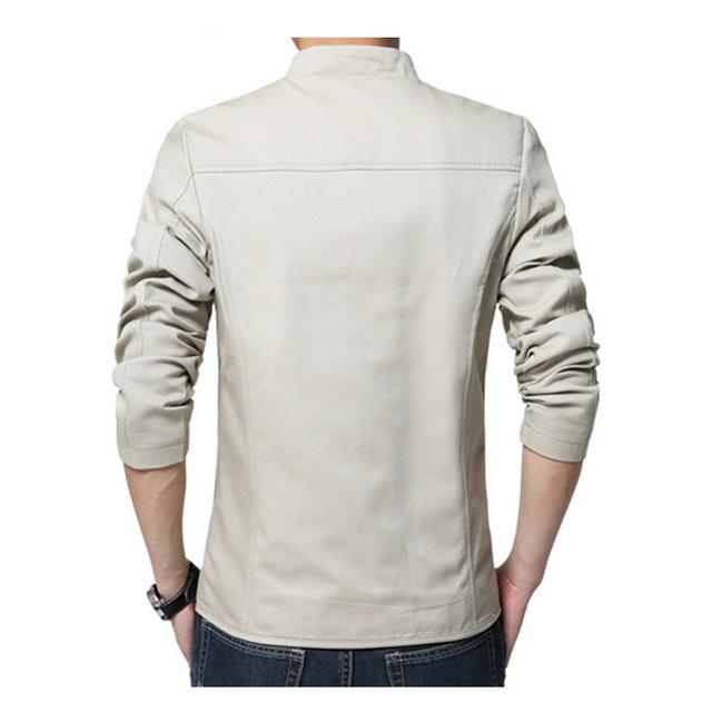 DIMUSI Mens Jackets Fashion Mens Cotton Slim Windbreaker Jackets Coats Man Anorak Streetwear Hip Hop Bomber Jackets 5XL,YA817