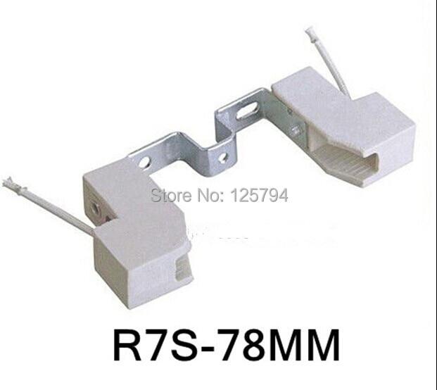 high quality led r7s 78mm led bulb lamp bases ceramics. Black Bedroom Furniture Sets. Home Design Ideas