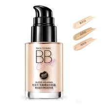 1PCS Wearing Oil-control BB Cream Moisturizing Whitening Naked Makeup Isolation Block Defect Strong Foundation Concealerxgrj