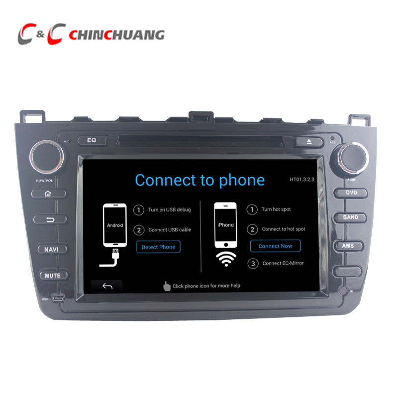 Quad Core Android 5 1 1 Car Dvd Player For Mazda 6 Radio Head Unit With Gps Wifi Support Bose