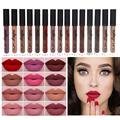 New Brand Makeup  Lipstick Matte Lipstick Brown Nude Chocolate Color Liquid Lipstick Lip Gloss Matte Batom