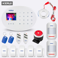 KERUI W20 new model Wireless Home Security Alarm System Alarm Kit Support Chinese English Russian West German Italian