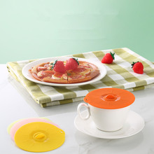 Universal Silicone Lid-bowl Suction Pan Cooking Pot Lid-Silicon Stretch Lids Kitchen Spill Stopper Cover