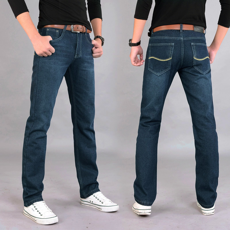 Mens Jeans Stretch Denim Jean Plus Size 30 32 34 35 36 38 40 Pants Trousers Designer Slim Fit Jeans For Men men s cowboy jeans fashion blue jeans pant men plus sizes regular slim fit denim jean pants male high quality brand jeans