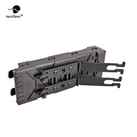 Tactifans 10 Rounds ABS Tactical Pouch Reload Holder Molle Pouch For 12 Gauge Magazine Pouch Ammo