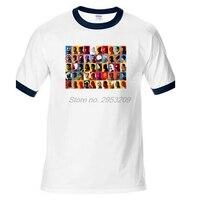 スーパーヒーローオールスターtシャツデザインマーベルコミックxmen黙示録x tシャツクールノベルティ面白いtシャツ男性ラグランスリーブtシャ