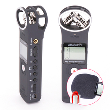 Zoom H1 Handy Portable Digital Recorder PocketStereo X/Y Interview Microphone ,Vlogging Video Mic w Windscreen and 2G Card