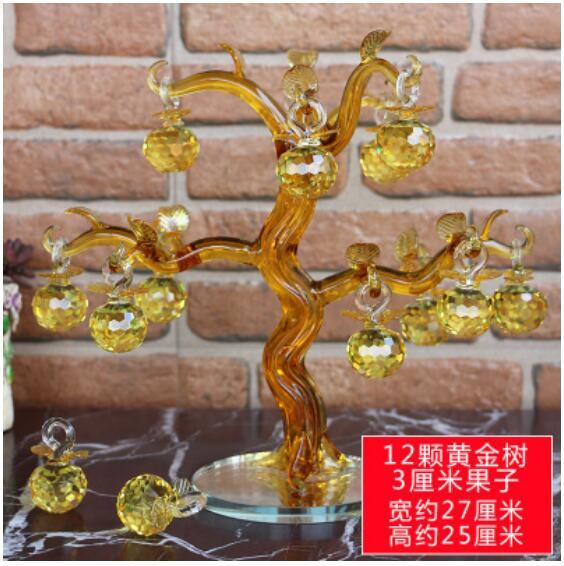 100% Kwaliteit Nieuwe Huang Jing Apple Boom Woonkamer Wijnkast Home Decoraties Opening Geschenken Decoratie Prijs Blijft Stabiel