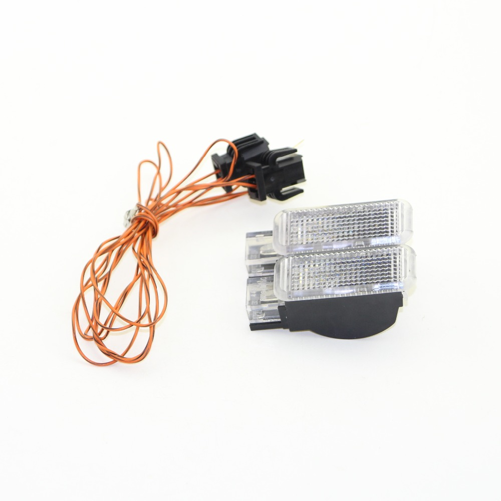 OEM Glove box lights Set 8KD 947 415 C 4B0 947 415 A 8D0 947 415 Fit A3 A4 A5 <font><b>A6</b></font> Allroad Quattro A7 Q3 Q5 Q7 TT image