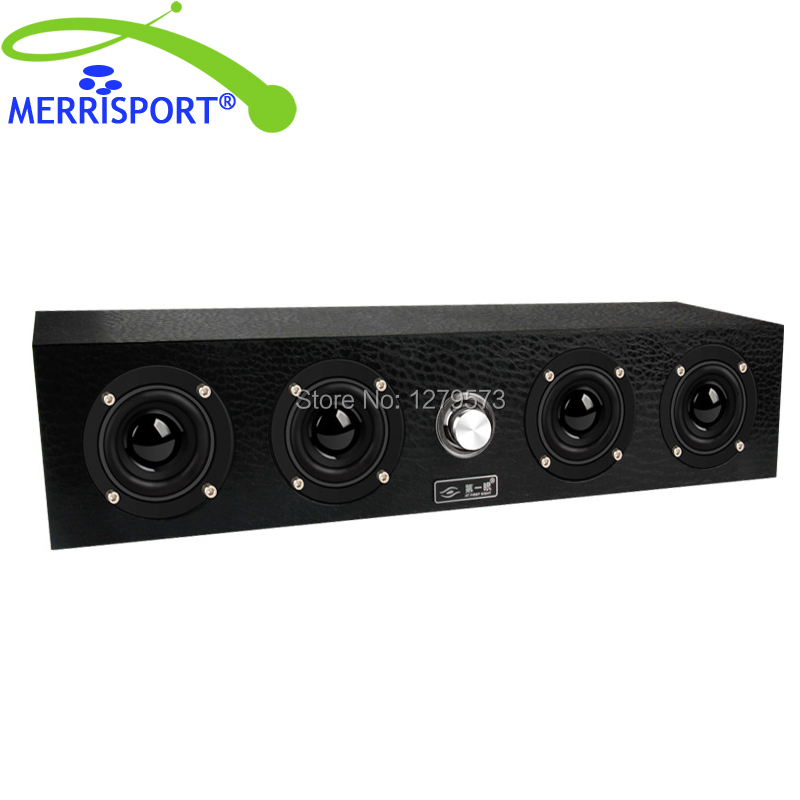 MERRISPORT Bookshelf Speakers Hi-Fi Wood Speakers for PC MP3 MP4 players Computer Home Theater Game Laptop TV and Tablets Black