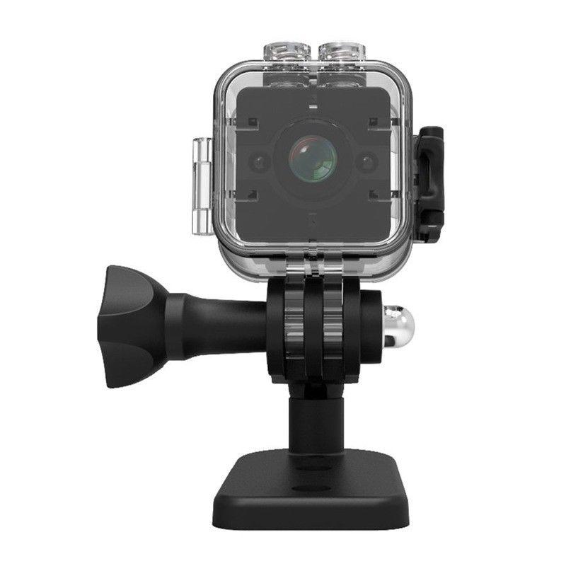 16 GB carte + SQ12 Mini caméra sport HD DV caméscope 1080 P Vision nocturne 155 degrés de large F2T8