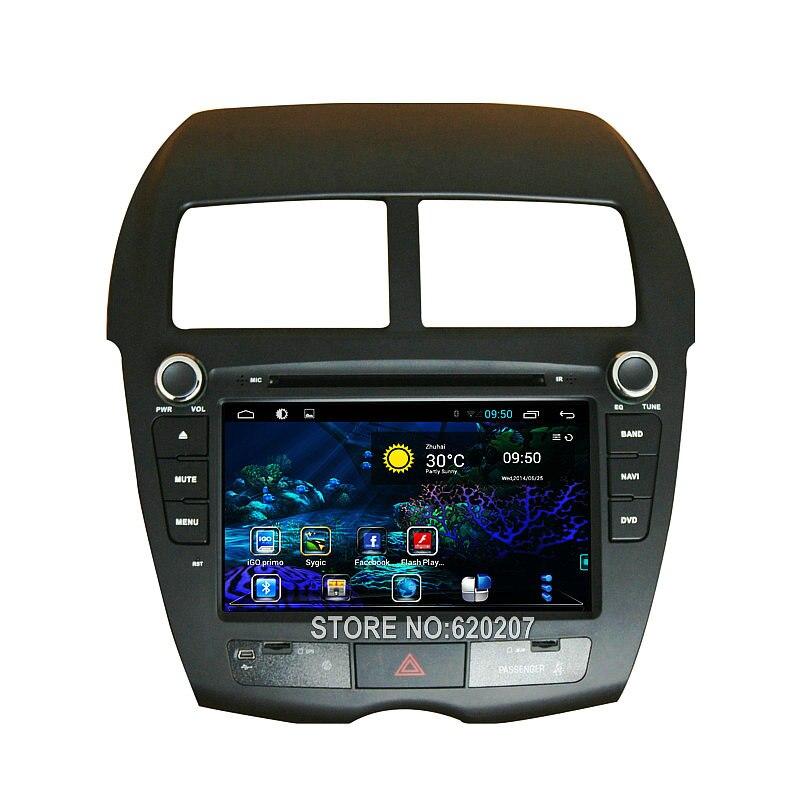 Четырехъядерный Android 4.4 автомобиль DVD-плеер с GPS навигации для Citroen С4 aircross может автозвука,Мультимедиа автомобиля стерео поддержка OBD ТМЗ