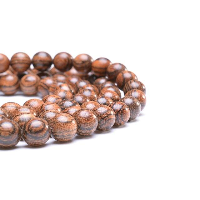 Купить браслет из натурального дерева бусина мала браслет для йоги