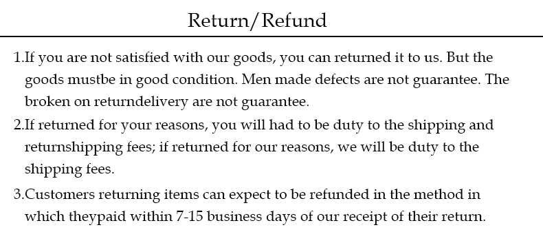 return ,refund